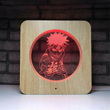 Naruto Touch Night Light Table Lamp Color Changing LED Christmas Birthday Gift