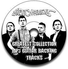 ARCTIC MONKEYS STYLE ROCK GUITAR MP3 BACKING TRACKS CD ANTHOLOGY LIBRARY