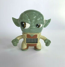 "Star Wars Yoda Digital Alarm Clock by Bulb Botz Lights Up 3 1/2"" Tall no package"