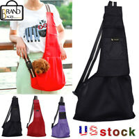 TAILUP Dog Cat Mesh Pet Carrier Outdoor Puppies Sling Bag Tote Travel Soft Bag