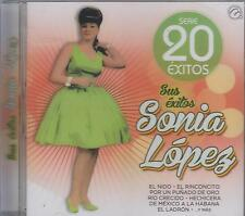 CD - Sonia Lopez NEW Serie 20 Exitos Sus Exitos FAST SHIPPING !