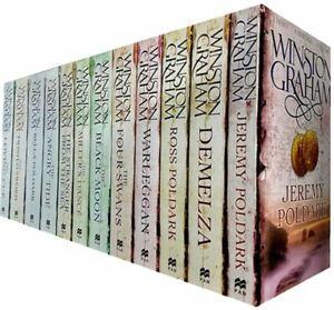 Winston Graham Poldark Series 12 Books Collection Set (Ross Poldark, Demelza, Je