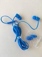 2er SET VANS Kopfhörer IN-EAR BLAU Blue Mikro inkl. Pads + Motorola PACE 105 NEU