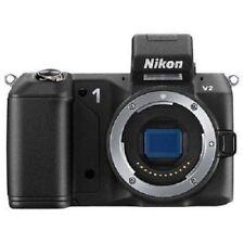 USED Nikon 1 V2 14.2 MP HD Digital Body Black Excellent FREE SHIPPING