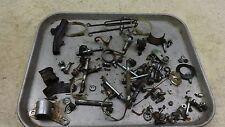 1972 honda xl250 enduro H1296~ misc hardware nuts bolts ect