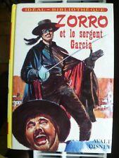 Idéal-Bibliothèque - Walt Disney - Zorro et le sergent Garcia -  ill Fr. Batet