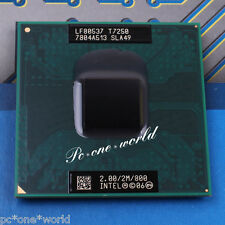 100% OK SLA49 Intel Core 2 Duo T7250 2 GHz Dual-Core Laptop Processor CPU