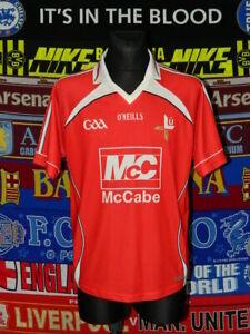 5/5 Louth GAA adults L gaelic football shirt jersey trikot