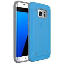 Poetic QuarterBack Bumper Protection Case for Samsung Galaxy S7 Edge Blue