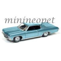 AUTOWORLD AW64102 1970 CHEVROLET IMPALA 1/64 DIECAST VERSION A BLUE