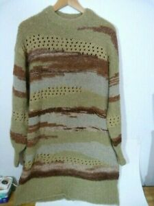 NWT Urban Outfitters stunning Brock Striped Sweater Dress (model A)