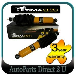 Front Pair Ultima Heavy Duty Shock Absorbers Mitsubishi Triton MK 4WD 1996-2006