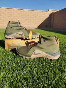 Nike Metcon X SF Cross Training Shoes Olive Sepia Stone BQ3123-208 Mens Size 9.5