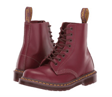 DR. MARTENS - 1460 Vintage Made In England Lace Up Boots Oxblood US W 9 M 8 NIB