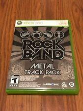 Rock Band: Metal Track Pack (Microsoft Xbox 360, 2009) Missing Manual!