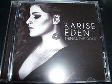 Karise Eden Things I've Done (Australia) CD – New