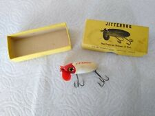 Fred Arbogast Jitterbug Plastic Lip Vintage Fishing Lure In Box Early