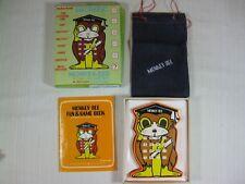 Radio Shack Electronic Monkey-See Math Game Original Box, Booklet, & Denim Bag