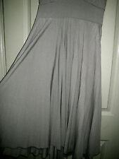 50's Style 8 Light Khaki Green Pad Cup Pleat Full Pleat Rope Halter Dress