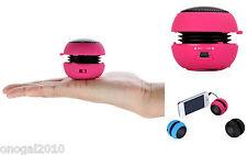Mini Altavoz Rosa con Bateria Recargable para Telefono DVD MP3 y MP4 2179