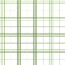 FK34401 - Fresh Kitchens Checked Tartan Green White Galerie Wallpaper