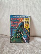 ESCAPE FROM THE PLANET OF THE APES -BOOK AND RECORD