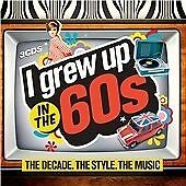 Sixties Music Compilation Number 1 Party Tracks 1960s TV Movie Theme Songs 3 CD