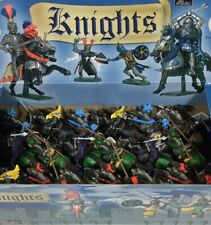 BRITAINS DEETAIL MOUNTED KNIGHTS Unopened Display Box 18 Figures Rare FREE SHIP
