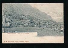 Chile JUNCALViaje Cordillera No15 1900s u/b PPC