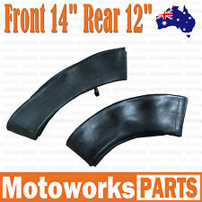 "80/100 - 12"" + 60/100 - 14"" Inch Front Rear Inner Tube PIT PRO Trail Dirt Bike"