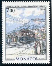 TIMBRE DE MONACO N° 1544 ** MONACO A LA BELLE EPOQUE / AVENUE DU BEAU RIVAGE
