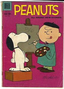 Peanuts #1015 - Four Color - Charles Schulz cover - All original