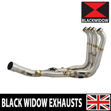 BMW S1000RR Performance De Cat Exhaust Collector Downpipes Race Headers 15-16