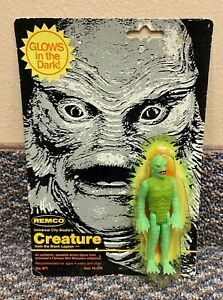 1980 Remco Creature From The Black Lagoon Vtg Universal Monsters GITD Figure MOC
