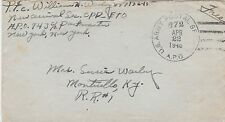 US, 1946, Military Free Postage Cancelled GERMANY TO MONTICELLO, KY (BX)