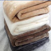 Warm Pet Mat  Paw Print Cat Dog Puppy Fleece Soft Blanket dog Bed Cushion 1#