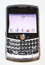 BLACKBERRY CURVE 8330 SILVER--VERIZON PHONE-AS-IS/BROKEN/BAD JACK (CLEAR ESN)