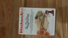 Kitchenaid Stand Mixer Attachment 3-Piece Pasta Roller & Cutter Set Model KPRA