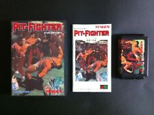 PIT FIGHTER Sega MegaDrive JAPAN Very.Good.Condition