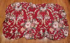 Ralph Lauren Danielle Marseilles King Size Ruffled Pillow Sham One