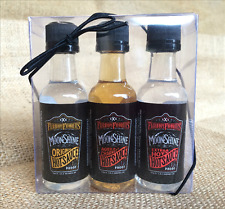 MOONSHINE HOT SAUCE 3pk gift set condiment spicy gourmet specialty food item