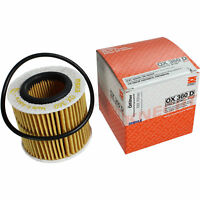 Original MAHLE / KNECHT Ölfilter OX 360D Öl Filter Oil