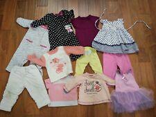 11 pcs Name Brands Sz 9-18 month girl Clothes Dress Romper Lot Carter's gb