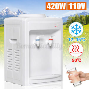 3-5 Gallon Top Loading Electric Freestanding Heat/Cool Water Cooler    {}