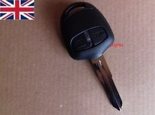 Mitsubishi Outlander Shogun Pajero Carisma 2 button key fob Case & Left Blade