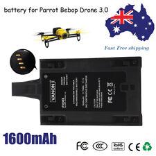 Battery For PARROT BEBOP 3.0 HELICOPTER QUADCOPTER 1600MAH 11.1V Lipo battery AU