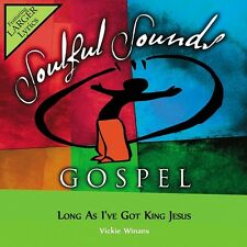 Vickie Winans - Long As I've Got King Jesus - Accompaniment CD New