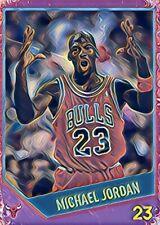 "Michael Jordan Custom Art Basketball Card ""Read Description"""