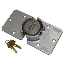 MASTER LOCK - American Lock 800 LHC Padlock & Hasp - 800 Hasp & Padlock