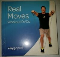 REAL APPEAL - REAL MOVES Workout System 6 DVD Set, 14 Different Workouts! New!
